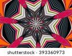 abstract design in multicolor | Shutterstock . vector #393360973