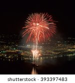 Fireworks In Pittsburgh Us