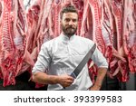 Portrait Of A Handsome Butcher...