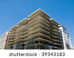 construction project nearing... | Shutterstock . vector #39343183