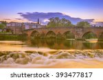 The Old Bridge And River Nith ...