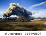 Landscape Eruption Mount Bromo...