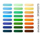 blank vector web button blue  ... | Shutterstock .eps vector #393492373