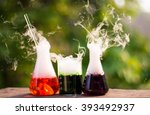 scientific equipment and... | Shutterstock . vector #393492937