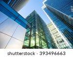 skyscraper office business... | Shutterstock . vector #393496663