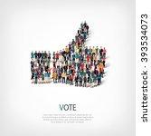 like hand people vector | Shutterstock .eps vector #393534073