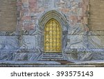 golden door at bok tower gardens | Shutterstock . vector #393575143