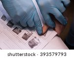 crime investigation. expert... | Shutterstock . vector #393579793