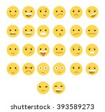 emotions web  great set... | Shutterstock .eps vector #393589273