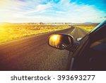 Arizona Scenic Drive. Driving...