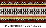 traditional arabian style sadu... | Shutterstock .eps vector #393766333