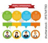 people infographic design | Shutterstock .eps vector #393769783
