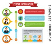 people infographic design | Shutterstock .eps vector #393769843