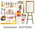 flat design vector... | Shutterstock .eps vector #393772333
