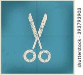 scissor design on old...
