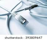 ethernet cables  internet... | Shutterstock . vector #393809647