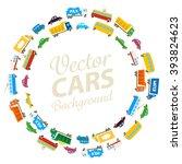vector transport background | Shutterstock .eps vector #393824623