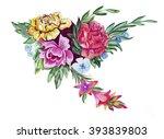 illustration sketch of a large... | Shutterstock . vector #393839803