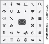 Simple Web Icons Set. Universa...