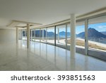 architecture  empty room of a... | Shutterstock . vector #393851563