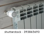 panel heating with heat... | Shutterstock . vector #393865693