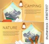outdoor activities. summer... | Shutterstock .eps vector #393875557