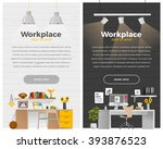 some business office style in... | Shutterstock .eps vector #393876523