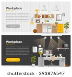some business office style in... | Shutterstock .eps vector #393876547
