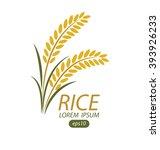 rice. vector illustration. | Shutterstock .eps vector #393926233