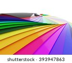car wrapping film color palette ... | Shutterstock . vector #393947863