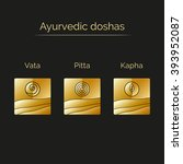 ayurveda vector illustration... | Shutterstock .eps vector #393952087