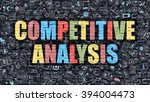 competitive analysis concept.... | Shutterstock . vector #394004473