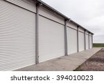 storage units with roller... | Shutterstock . vector #394010023