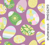 seamless multicolored pattern...   Shutterstock .eps vector #394016293