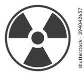 Symbol Of Radioactive...