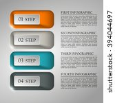 information infographic... | Shutterstock .eps vector #394044697