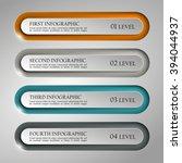 information infographic... | Shutterstock .eps vector #394044937