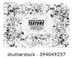 grunge texture vector background | Shutterstock .eps vector #394049257