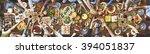 friends happiness enjoying...   Shutterstock . vector #394051837