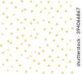 seamless polka dot pattern. dry ... | Shutterstock .eps vector #394066867