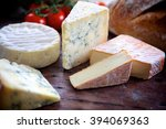 selection of cheeses   Shutterstock . vector #394069363