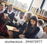 classmate educate friend... | Shutterstock . vector #394073977