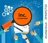 inc incorporated types of...