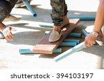 team building activities for... | Shutterstock . vector #394103197