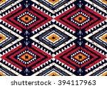 Geometric Ethnic Oriental...