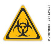 Vector Sign Toxic Isolated....