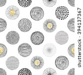 seamless vector pattern with... | Shutterstock .eps vector #394137367
