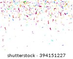 abstract colorful flying... | Shutterstock .eps vector #394151227