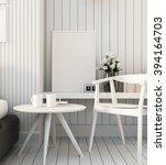 simple bedroom for mock up... | Shutterstock . vector #394164703