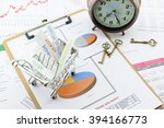 various type of financial and... | Shutterstock . vector #394166773